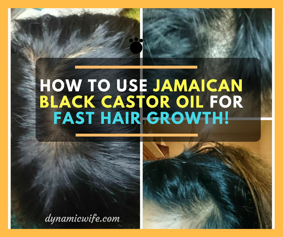 How To Use Jamaican Black Castor Oil For Hair Growth Fast